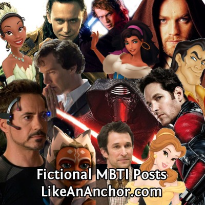 Fictional MBTI Posts | LikeAnAnchor.com