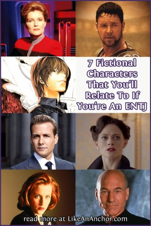 7 Fictional Characters That You'll Relate to If You're An ENTJ | LikeAnAnchor.com