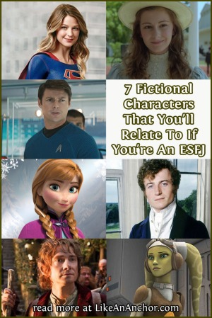 7 Fictional Characters That You'll Relate To If You're An ESFJ | LikeAnAnchor.com