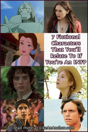 7 Fictional Characters That You'll Relate To If You're An INFP | LikeAnAnchor.com