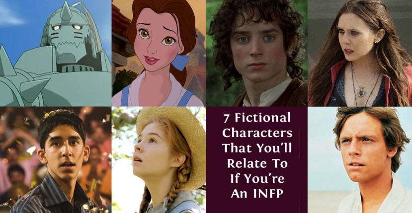7 Fictional Characters That You'll Relate To If You're An INFP