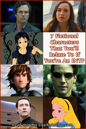7 Fictional Characters That You'll Relate To If You're An INTP | LikeAnAnchor.com