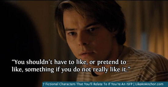 7 Fictional Characters That You'll Relate To If You're An ISFP   LikeAnAnchor.com