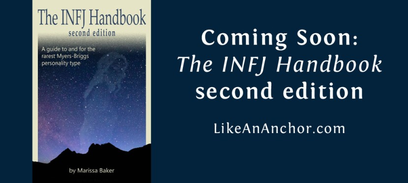 I'd like to hear from INFJ men for The INFJ Handbook second edition