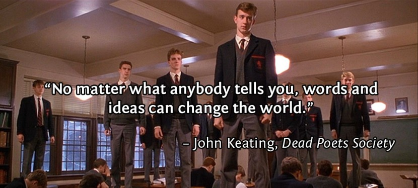 ENFJs, the Dead Poet Society, and Ways To Change the World