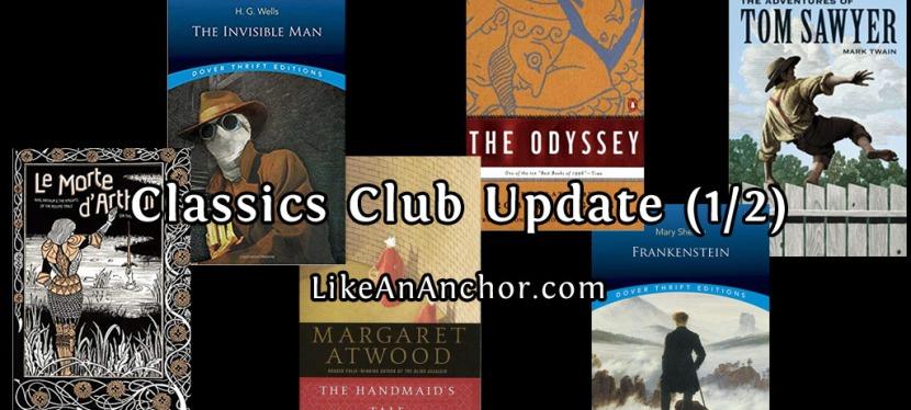 Classics Club Update(1/2)