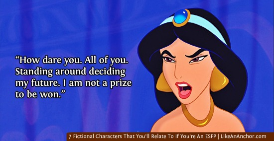 7 Fictional Characters That You'll Relate To If You're An ESFP   LikeAnAnchor.com