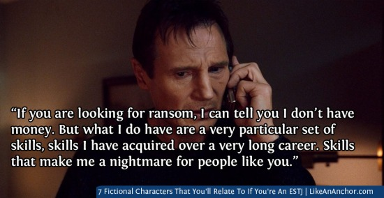 7 Fictional Characters That You'll Relate To If You're An ESTJ | LikeAnAnchor.com