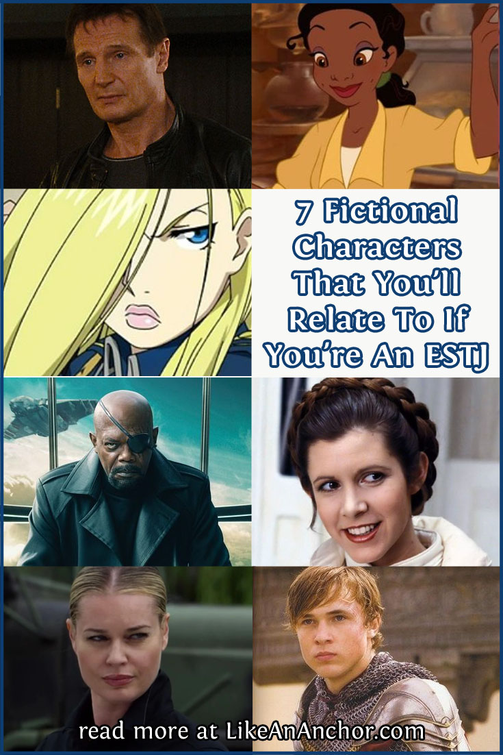 7 Fictional Characters That You'll Relate To If You're An ESTJ   LikeAnAnchor.com