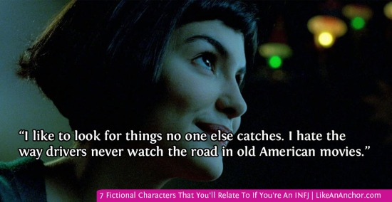 7 Fictional Characters That You'll Relate To If You're An INFJ | LikeAnAnchor.com