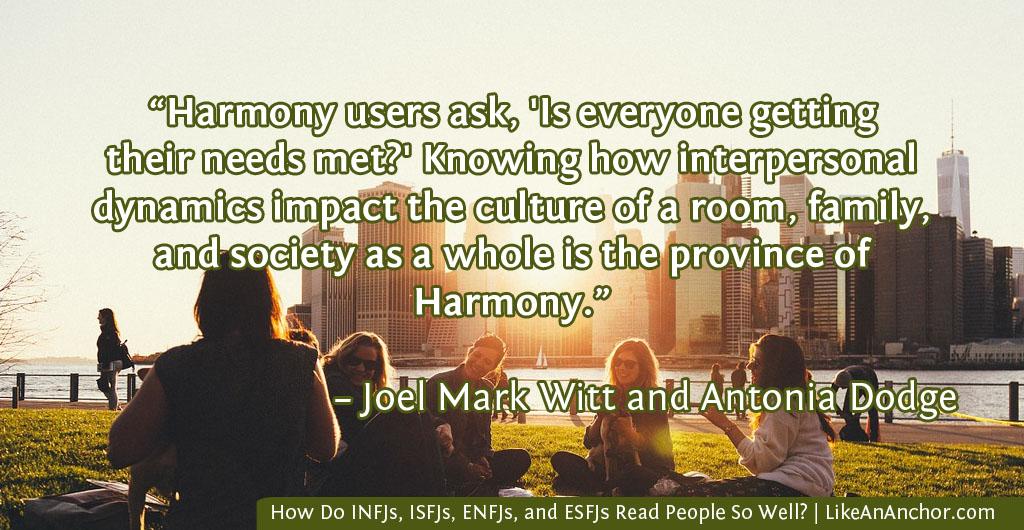 How Do INFJs, ISFJs, ENFJs, and ESFJs Read People So Well