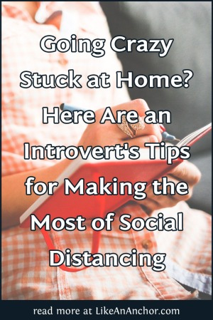 Here Are an Introvert's Tips for Making the Most of Social Distancing | LikeAnAnchor.com