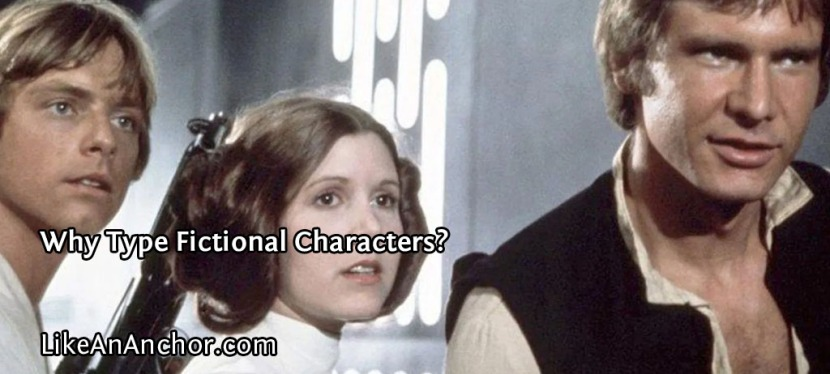 Why Type Fictional Characters?