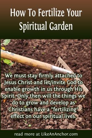 How To Fertilize Your Spiritual Garden