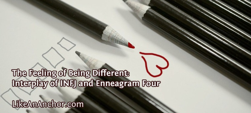 The Feeling of Being Different: Interplay of INFJ and EnneagramFour