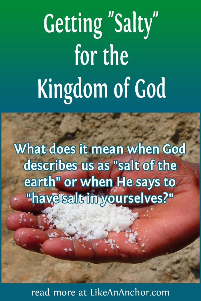 "Getting ""Salty"" for the Kingdom of God 