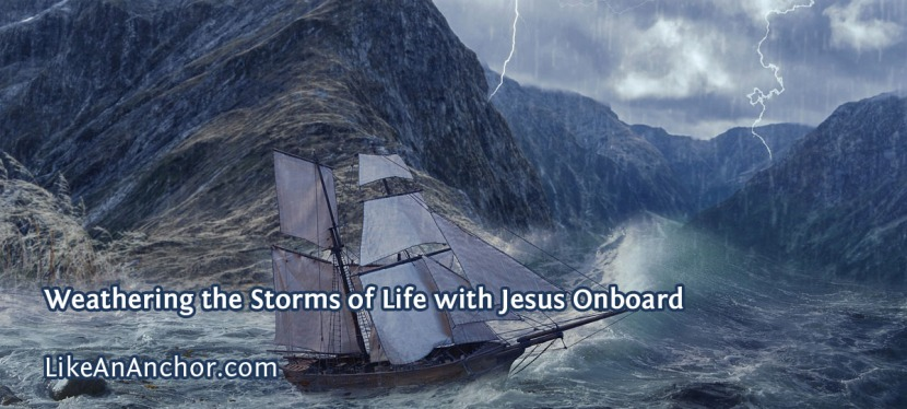 Weathering the Storms of Life with JesusOnboard
