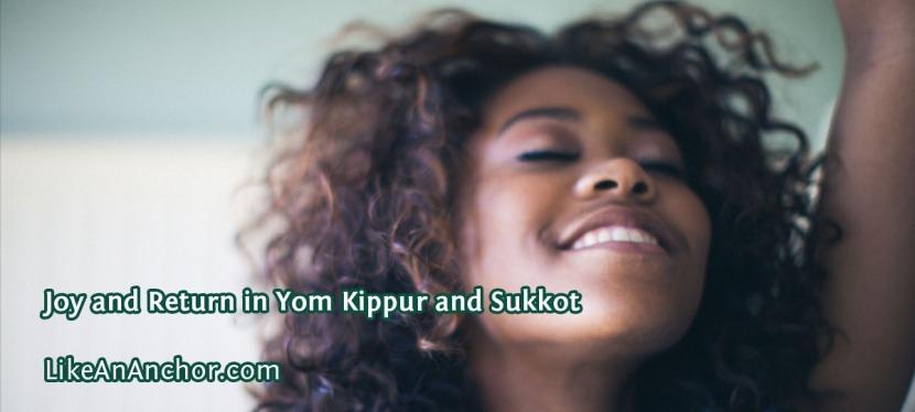 Joy and Return in Yom Kippur andSukkot